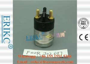 China ERIKC Fuel Solenoid Valve F00RJ02697 Diesel Solenoid Valve Assembly F 00R J02 697 on sale