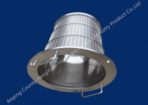 China Stainless Steel Rotary Drum Screen Filter , Wedge Wire Basket on sale