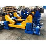 Standard 20 Ton Industrial Welding Rotator PU Rollers For 20m Pipes Welding