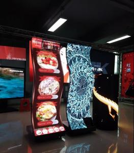 China Indoor Full Color Creative LED Display / Led Cube Display 500 X 500mm Cabinet Size on sale