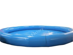 China 8M Tarpaulin Inflatable Water Games , Gaint Inflatable Large Pool Recyclable on sale