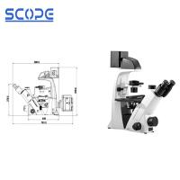 China Biology Compound Inverted Biological Microscope For Research Laboratories on sale