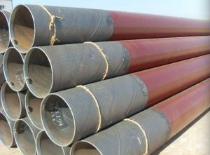 China Double - Sided SSAW Steel Pipe API 5L X56 Spiral Submerged Arc Welded Pipe on sale