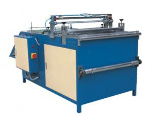 China Auto Cutting Fabric Bag Air Filter Making Machine , 300mm - 980mm Cutting Length on sale
