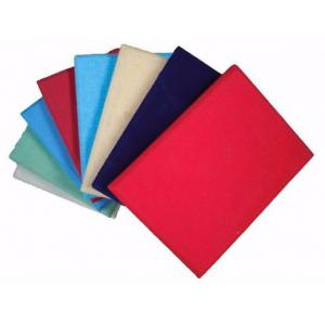 China Sponge Eco-friendly Base Acoustic Fabric Panels 2440 * 1220mm for Office supplier