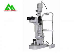 China Hospital Digital Slit Lamp Microscope With Camera And Beam Splitter on sale