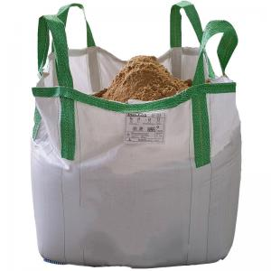 China Square Reinforce 1 Ton Bulk Bag For Packing Bulk Cement / Chemical Raw Material on sale