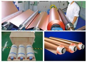China HTE RA PCB Copper Foil 76mm / 152mm Inter Dimater 0.009 - 0.09mm Thickness on sale