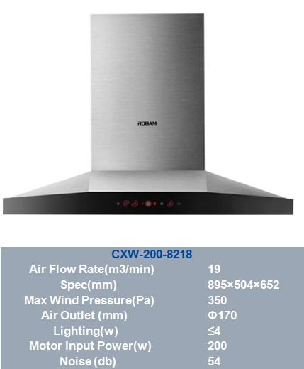 Perfect Robam Range Hood /Famous Brand ROBAM Kitchen Electric Appliance /China  Kitchen Extractor / Exhaust Hood /T Shape Images