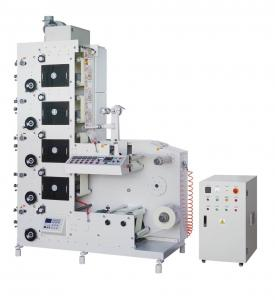 China 4 Color Automatic Flexographic lebeling Printing Machine HJRY-320 For Label Press on sale