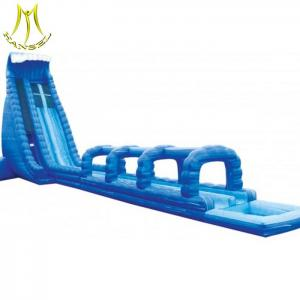 China Hansel  inflatable carnival games sale amusement park inflatable slides trampolines on sale