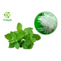 China Natural Flavour Essence Herbal Extract Powder 99.5% Mint L - Menthol Crystal on sale