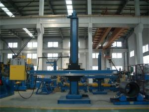 China Lifting Stroke 4000 mm Welding Column And Boom for Pressure Vessels Circle Seam , Pipe Welder on sale