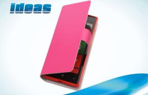 China Eco friendly HTC Leather Phone Case with Card Holder for HTC Mobile Phones on sale