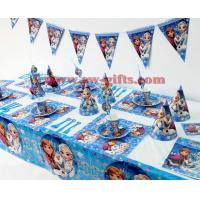 Disney Frozen Princess Anna Elsa Kids Birthday Party Decoration Set Party Supplies Baby Birthday Party Pack event party