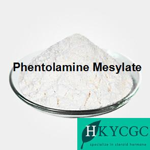 China High Purity Pharmaceutical Raw Materials Adrenergic Blocking Medication 65-28-1 Phentolamine Mesylate on sale