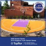 Basketball Flooring PP Interlocking Floor for backyard