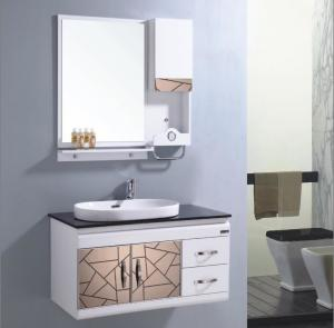 China high quality pvc bathroom cabinet factory direct price on sale
