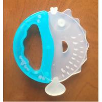 Pig Shaped Silicone Baby Teethers BPA Free Food Grade Animal Customized Bruxism Tool