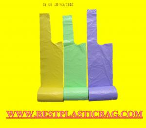 China 2015 good sale recycled good quality HDPE/LDPE garbage bag (Manufacturer) on sale