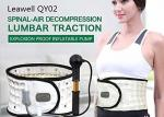 Inflated Decompression Back Belt Manual Pump Inflate Long Lifespan Lightweight