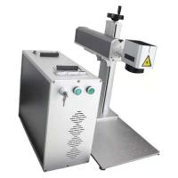 20w 30w Portable Mini Laser Engraving Machine Metal And Wood barcode Split Type