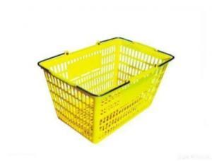 China Plastic Shopping Basket on sale