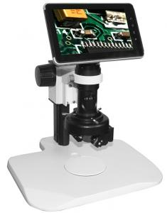 China 2 MP CMOS Sensor 2D / 3D LCD USB Digital Microscopes / Microscope with Google Android 2.2 on sale