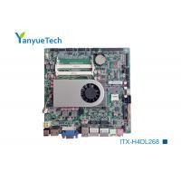 China ITX-H4DL268 Industrial Mini ITX Motherboard / Mini Itx I3 Motherboard Intel Haswell U Series on sale