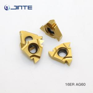 China 16ER AG60 Standard Carbide threading inserts for External Cutting Type on sale