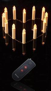 China 無線リモート・コントロール蝋燭は12pcs/setをつけます on sale
