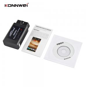 China Check Engine Light Bluetooth Obdii Scan Tool For Android Devices  Black on sale