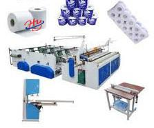 China Fully Automatic Toilet Paper Roll Machine 5T/D on sale
