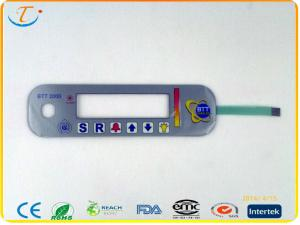 China Matte PC Flexible Membrane Switch With Touch Panel For Communication apparatus on sale