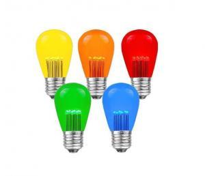 China S14 T50 LED Replacement Bulbs Outdoor Patio Lights 1Watt 120Volt E26 Medium Base 1Watt Decorative lamps for Strand on sale