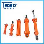 中国の製造者からの緩衝取付けが付いている標準的な水圧シリンダ