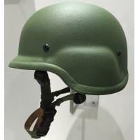 China Army Green Kevlar PASGT NIJ IIIA bullet proof helmet for Military Police on sale