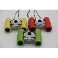 China Strong Structure Children's Play Binoculars 8x21 Versatile Three Colors For Option on sale
