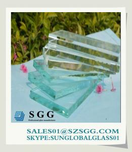 China low iron glass suppliers, 3-19mm on sale