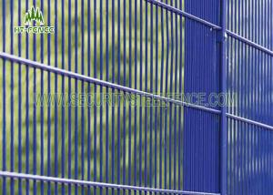 China Anti - Water 358 Security Fence / Wire Mesh Fencing Panels With 3 × 0.5 Mesh Hole on sale