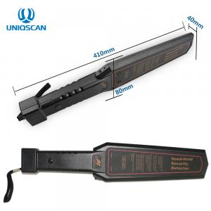 China GC1001 Hand Held Metal Detector IP31 Waterproof Standard 9V Battery Save Electricity on sale
