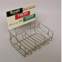Retail Store Custom Metal Display Racks Tinned Vintage Tobacco Display Rack