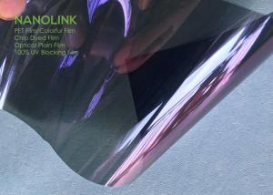 China Polycarbonate Sun Film For Car Windows High Vlt , High Ir Uv400 Uv Blocking Window Film on sale