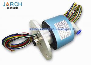 China 300RPM High Precision Hybrid Slip Rings With 10-12mm Tube Size , Long Life Time on sale