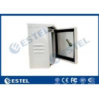China IP55 Single Wall Pole Mount Enclosure Cabinet Small Metal Box One Front Door on sale