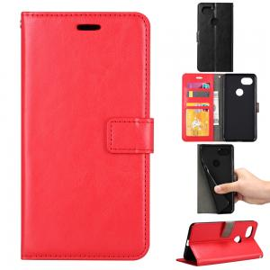 Quality Google Pixel2 Crazy Horse Cell Phone Leather Wallet Case Three Card Slot Tpu Soft Back Cover for sale