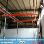 350KG 500KG 800KG Kbk Model Overhead Crane Exported to Malaysia Singapore America