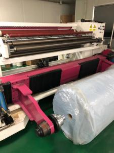 China Melt Blown Fabric Slitting Machine For Mask Non Woven Cloth High Efficiency on sale
