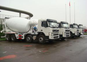 China 10 Cbm Truck Mounted Concrete Mixer With VOLVO FM400 Truck Chassis on sale