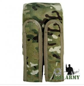 China Military Tactical Ammo pouch Double Pod/Ammo Pouch Multicam on sale